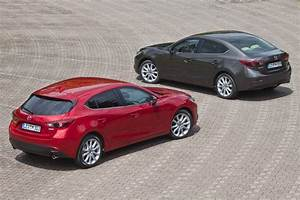 Mazda 3 Coffre : mazda 3 non conventionnelle automobile ~ Medecine-chirurgie-esthetiques.com Avis de Voitures