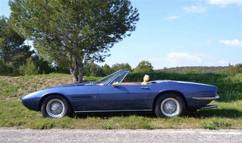 Maserati Ghibli Spyder For Sale by For Sale 1970 Maserati Ghibli Spyder 4 7l