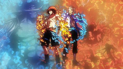 One Piece Ace Wallpaper ·①
