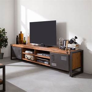 Tv Lowboard Glas : tv lowboard manchester lounge tv cabinets industrial furniture furniture ~ Orissabook.com Haus und Dekorationen