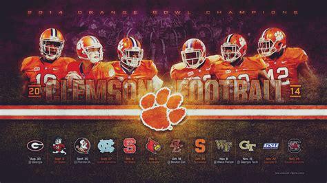 Clemson Tigers Football Wallpaper Free Clemson Tigers Wallpaper Wallpapersafari