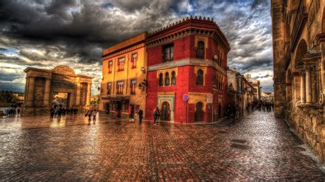 town hdr hd photography  wallpapers images