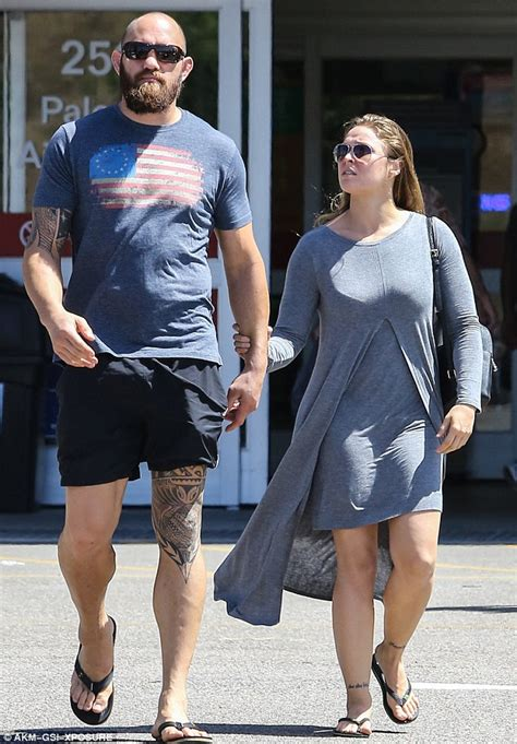 Ronda Rousey Boyfriend Suzuki by Ronda Rousey Spends Some Quality Time With Boyfriend