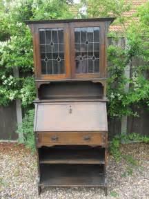 bureau nouveau nouveau bureau bookcase solid oak antiques atlas
