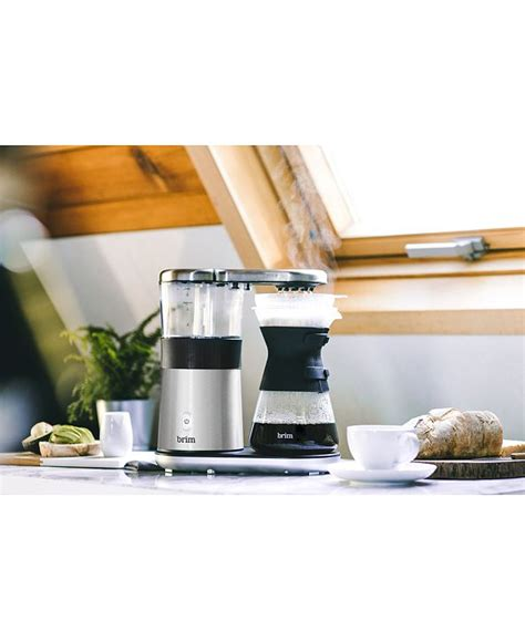 Brim's 8 cup pour over coffee maker isn't. Brim 8-Cup Electric Pour-Over Coffee Maker & Reviews - Coffee Makers - Kitchen - Macy's