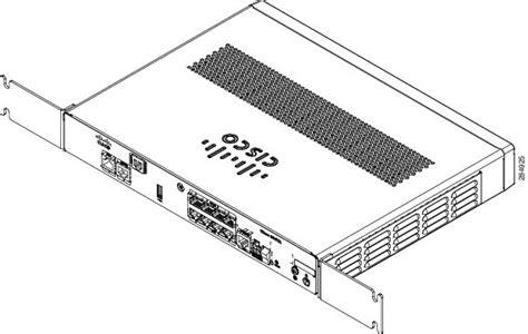 shelf brackets installing the router cisco