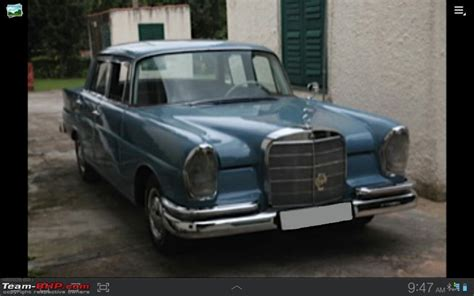 vintage classic mercedes benz cars  india page