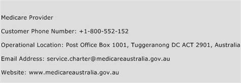 medicare provider customer service phone number toll