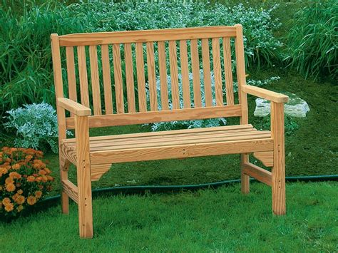 wooden garden benches front yard landscaping ideas