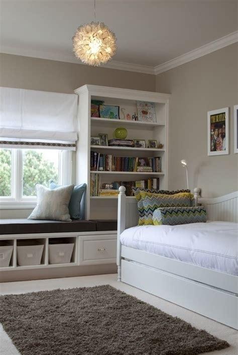 Storage Wall Bookcase, Under Window Bench House