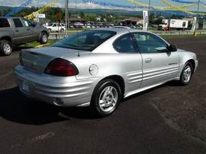 Buy Used 2001 Pontiac Grand Am Se Coupe Only 36k Miles  1
