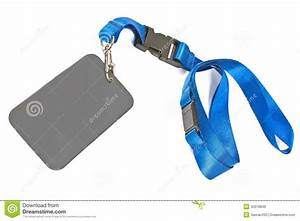 Blank Id Card Tag Stock Photo  Image Of Business  Blank