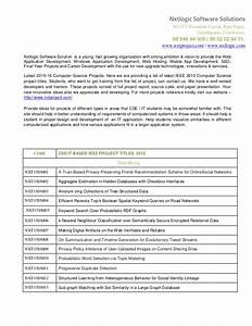 Ieee Projects For Cse 2015 List Ieee Projects Topics ...