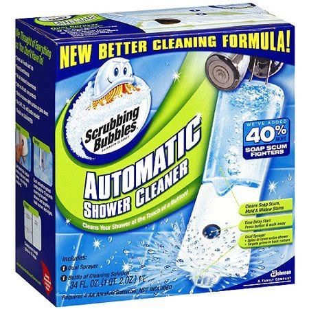 75916 Coupon Scrubbing Bubbles Shower Cleaner by Scrubbing Bubbles Automatic Shower Bathroom Cleaner 34 Fl