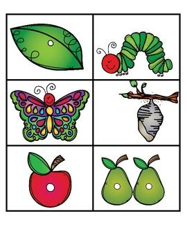 hungry caterpillar writing sheets  fabfilefolders tpt