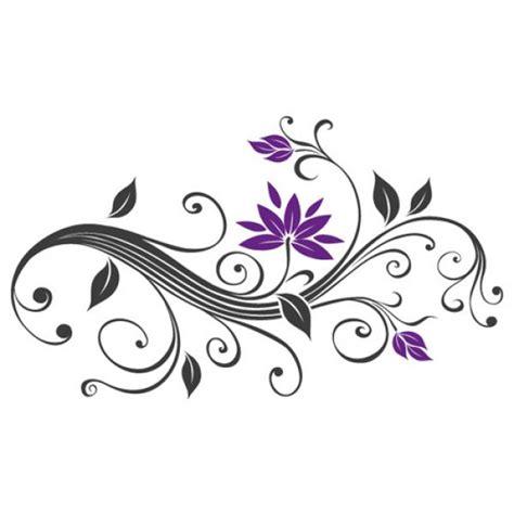 Muster Blumenranke Einfach by Blumenranke Autoaufkleber Blumen Aufkleber Ranken Auto