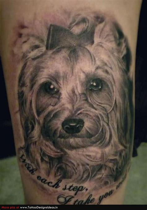 big paws blog spot tattoos  dogs
