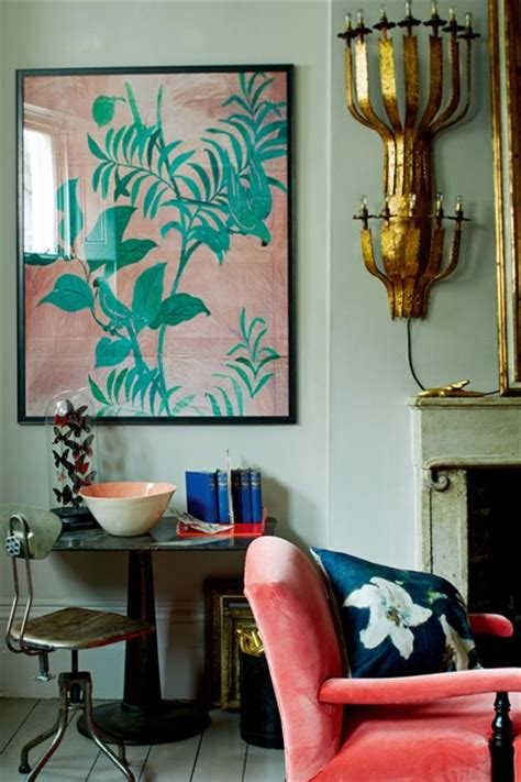 Coral Color Interior Design by Coral Aqua And Blue Colour Scheme Blue Living Room