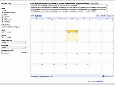 How To Integrate Google Calendar With WordPress Elegant