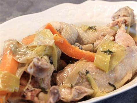 chapon cuisine recettes de chapon poché