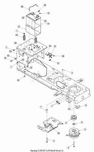 Mtd 13ap615p755  2005  Parts Diagram For Pto
