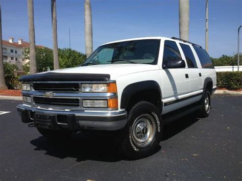 transmission control 1996 chevrolet suburban 2500 auto manual buy used 1996 chevy suburban 2500 lt 4x4 diesel only 142k miles extra clean in west palm beach