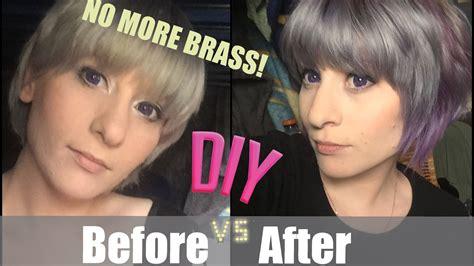 Ion Permanent Hair Color Dusty Violet