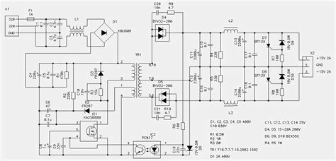 70 w switching power supply circuit diagram world
