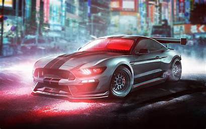Shelby Mustang Ford Wallpapers Gt350r Desktop 8k
