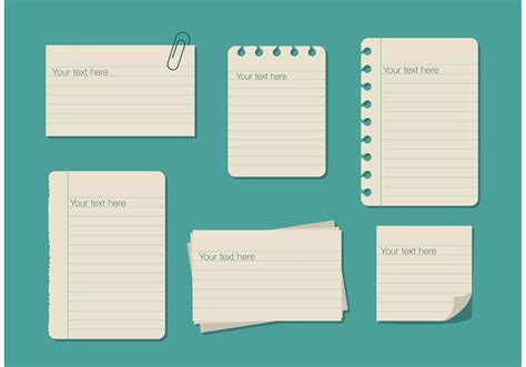 css template box text image ruled paper text box templates download free vector art