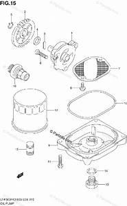 Suzuki Atv 2003 Oem Parts Diagram For Oil Pump