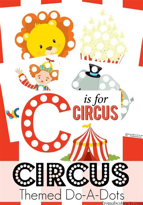 circus preschool activities c is for circus preschool theme from abcs to acts 391