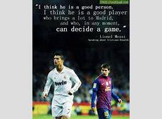 Lionel Messi about Cristiano Ronaldo Troll Football
