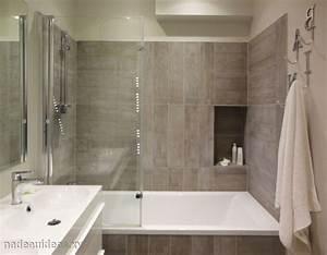 petite salle de bain douche italienne With porte de douche coulissante avec galet carrelage salle de bain
