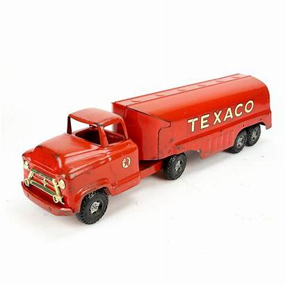 Texaco Tanker Pressed Buddy Truck Steel 1950