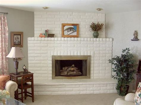 white fireplace paint show me your painted brick fireplace home