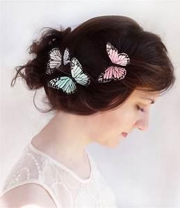 Mint Wedding Bridal Butterfly Hair Pins 2228735 Weddbook