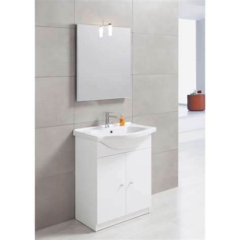 meuble sous evier cuisine brico depot meuble vasque 65 cm blanc leroy merlin