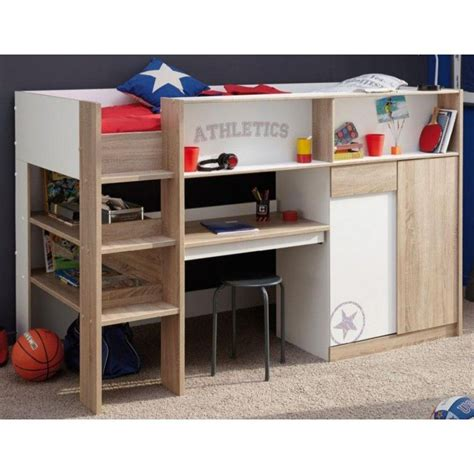 children bunk bed work station bunk beds  storage