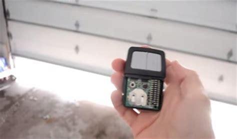 Lost Garage Door Remote by How To Replace A Lost Wireless Garage Door Opener Remote