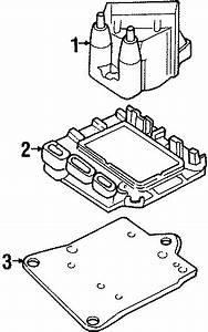 Pontiac Sunbird Ignition Control Module  Module Assembly  Elek Ignition Control  W  O Coil