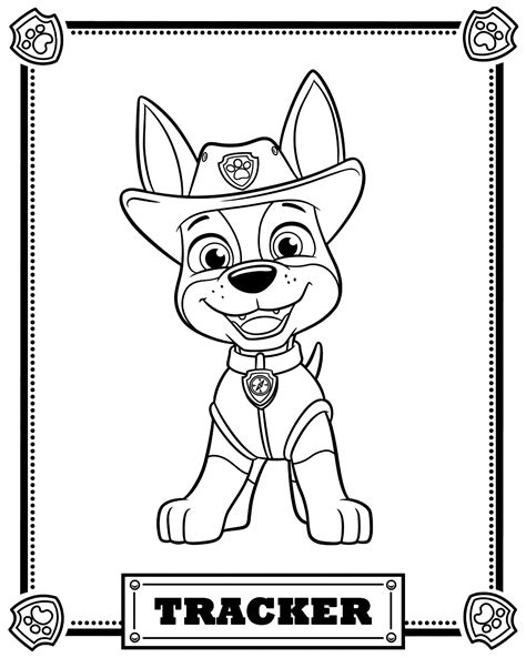 Kleurplaat Pawpatrol by Top 10 Paw Patrol Coloring Pages