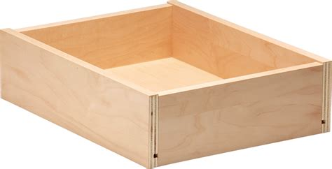 plywood drawer boxes maple drawer box walzcraft 1559