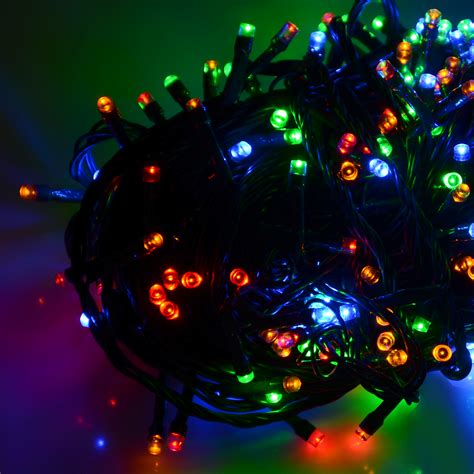 battery operated chasing led lights string  timer