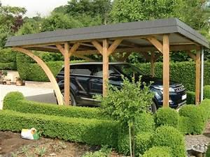 Carport Aus Holz : einzel carport aus holz mit bogenpfosten brandl ~ Orissabook.com Haus und Dekorationen