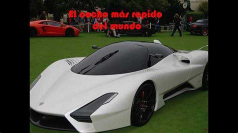 ssc tuatara el coche mas rapido del mundo youtube