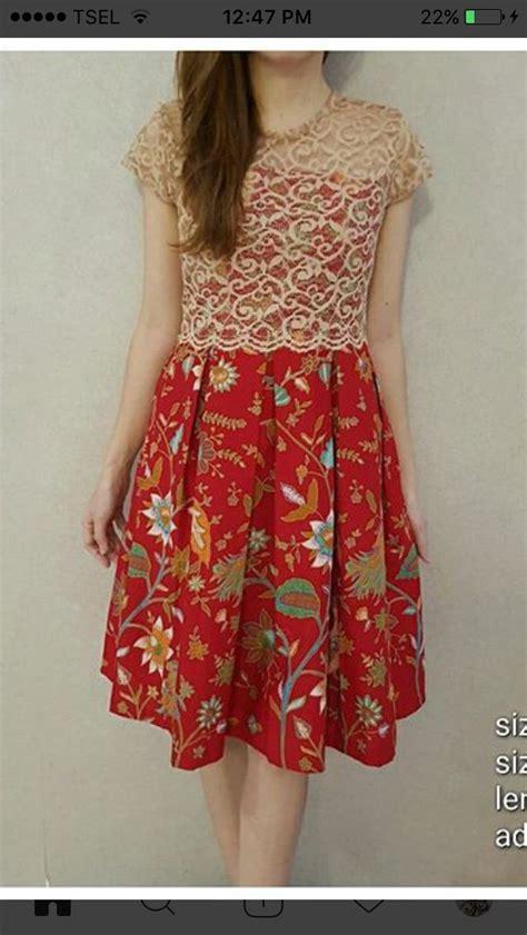 batik dress ideas  pinterest model dress