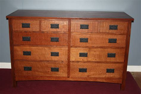 mission style chest of drawers custom craftsman chest of drawers by messier