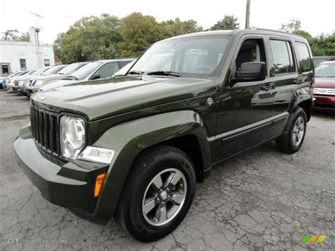 green jeep liberty 2008 2008 jeep green metallic jeep liberty sport 4x4 37225685