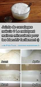 Blanchir Des Joints De Carrelage : joints de carrelages noircis le nettoyant miraculeux ~ Dailycaller-alerts.com Idées de Décoration